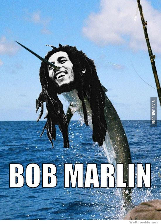 bob marlin, fish pun