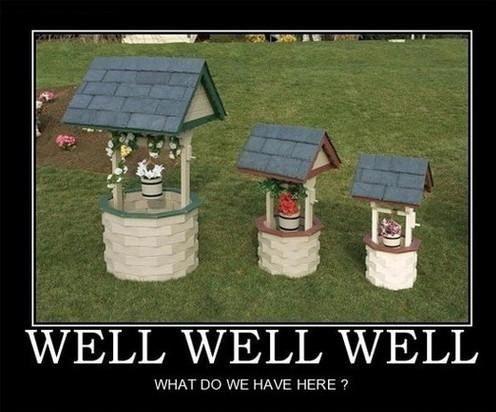 Well, well, well, water pun