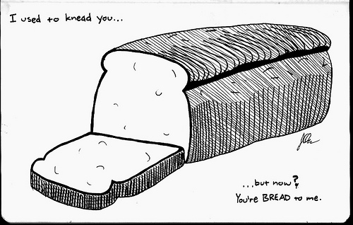 Bread dating puns