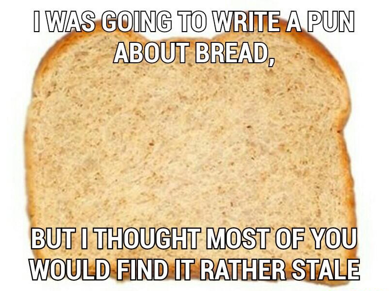 flirting meme with bread without bread recipes using