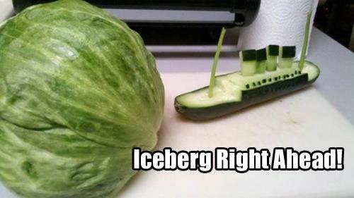 lettuce iceberg puns
