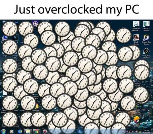 pc computer pun